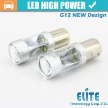30w G12 1156 / Ba15s / 7506 1157 / BAY15D auto llevó la bombilla led luz de freno