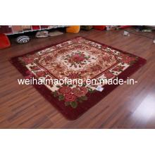 Raschel Mink Polyester Picnic Shaggy Carpet (NMQ-CPT016)