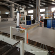 Ligne d'extrusion de panneau de mousse de Templete de construction de PVC