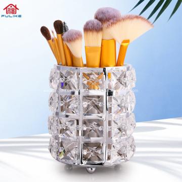 Titular de herramientas de maquillaje de cristal de venta caliente
