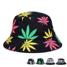 Мода печатных рекламных хлопка Twill Leisure Bucket Hat (YKY3202)