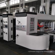 Automatic Printing Machine for Corrugated Carton Box Flexo Printer Die Cutting memory Plc Setting Type