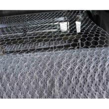 Malla de alambre de pollo galvanizado hexagonal para enyesado