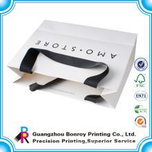 Elegant custom printed gift bags with company logo