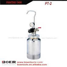 Tanque da pintura do tanque da pintura do tanque de pressão da pintura do ar 2L mini