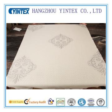 Tejido de poliéster suave colchón de lujo