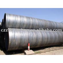 Q235 SSAW спиральная стальная труба