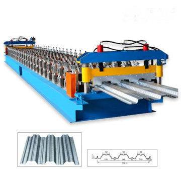 STEEL DECKING ROLL FORMING MACHINE