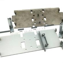 Verarbeitung von Aluminium-Türschloss-Metallstanzblechen