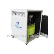 Compresor de aire libre de aceite silencioso para laboratorio dental