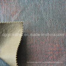 Cuero respirable de los muebles de la PU del diseño de la moda (QDL-FB0062)