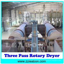 Machine de séchage à bille rotative automatique à bois numérique