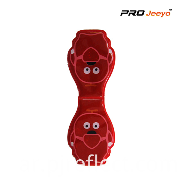 Animal Shape Dog Led Light Magnetic Clipcj Pvc009