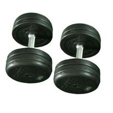 Фиксированный черный резиновый резиновые гантели гантели шестигранные/ фитнес-оборудования