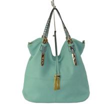 Ladies PU Handbag, Hot-Selling Bag with Snake PU Handles
