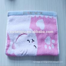 Tecida, toalha de mão de microfibra de malha, toalha de rosto
