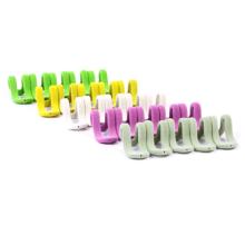 Cabide simples Clips para cabides flocados
