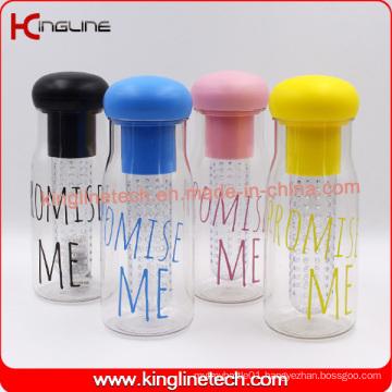 700ml new design fruit infuser bottle With tube filter inside(KL-7120)