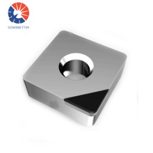 PCD Diamond Turning Indexable Inserts VCGW Lathe Turning Cutting Tools For Aluminium Alloy