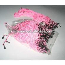 2014 cordones de lentes de color rosa