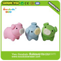 Cute Colored Eraser Pig