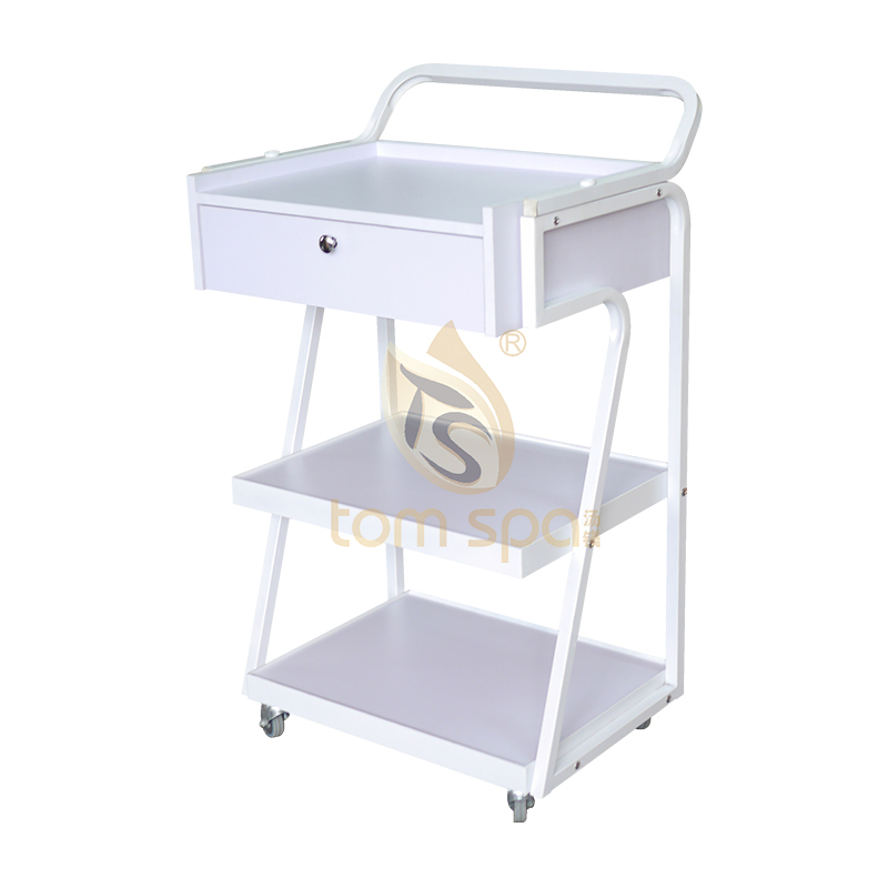 Beauty Salon Trolley with Drawer