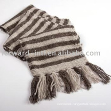 100%CASHMERE KNITTED SCARF