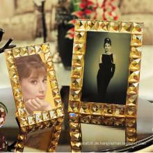 Europäisches elegantes Kristallglas-Foto-Rahmen-Geschenk