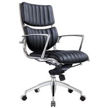 Cadeira moderna do pessoal giratório do escritório do couro do metal (RFT-B125-2)