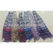 In Stock Polyester Stripe Scarf