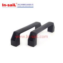 Kabinett-Plastikquadratgriffe mit Metalleinsatz-Nuss