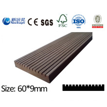 High Quality PE WPC Board Plank with SGS CE Fsc ISO Decorative Board Wood Plastic Composite Lhma094