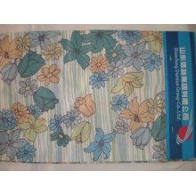 Chemise en popeline imprimée 60/40 coton / polyester tissu cvc