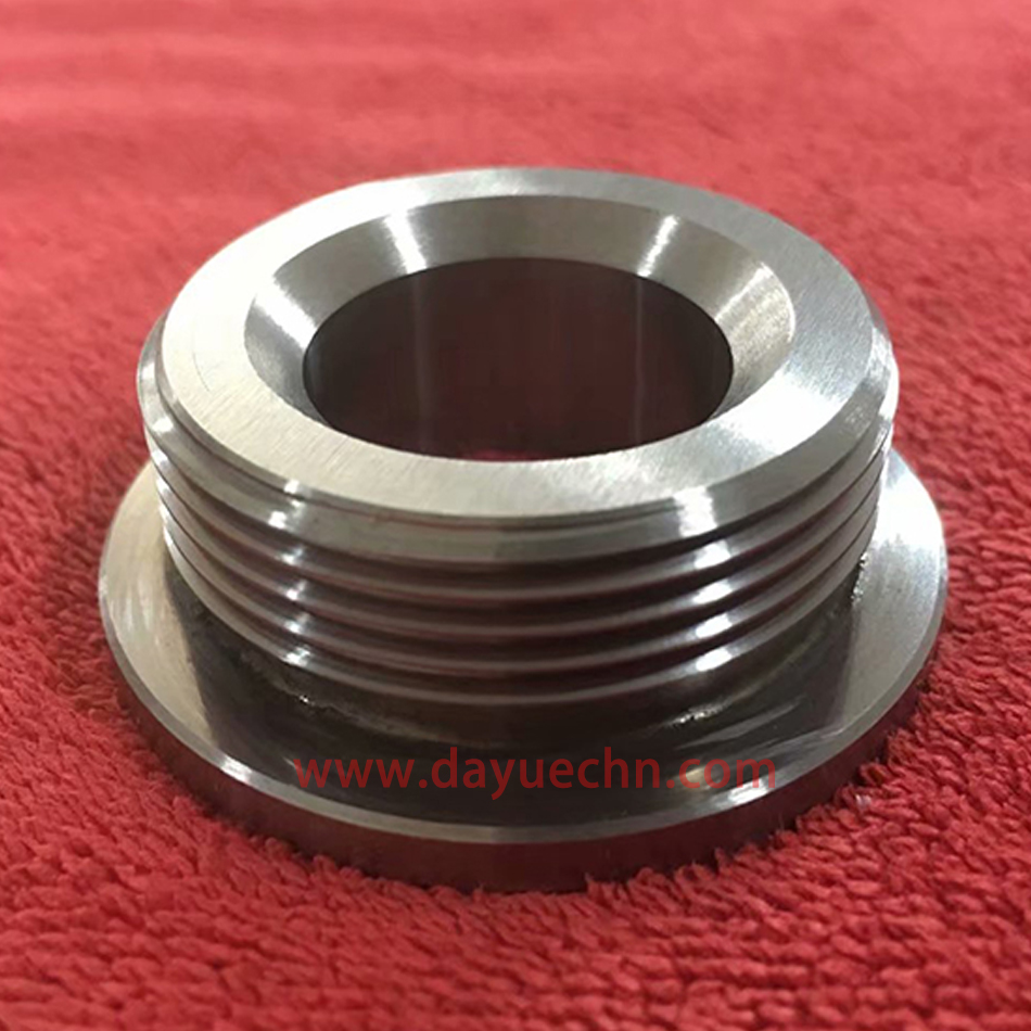 EDM Machining Tungsten Carbide Threaded Components