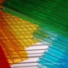 Fabricante de la hoja de policarbonato de múltiples capas una mejor calidad del grado