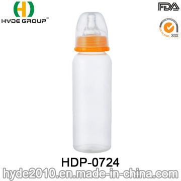 Pescoço padrão livre de BPA que alimenta o frasco de bebê dos PP (HDP-0724)