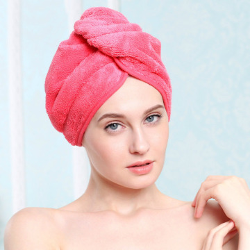 Szybki suchy mikrofibr turbie twist hair towel