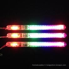 cadeaux de fête bâton de lumière électrique arc en plastique