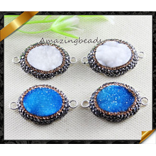 Crystal Charms Bracelets Connector Jewelry for DIY Handmade Making (EF0108)