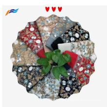 Elegant Design Floral Embroiderd Ladies Polyester Scarf