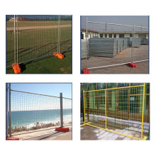 Trade Assurance Hot dipped Galvanized Removable Temporary Fence