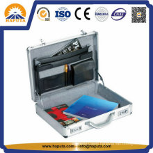 Customized Aluminum Tool File Case with 3 Pockets (HL-2601)