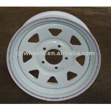 Remorque utilitaire roue 15x5J, 15X6J, 16X6J