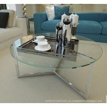 Mesa de té moderna de los muebles de la sala de estar