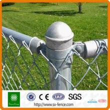 Clôture de maillon de chaîne en fil d'alliage d'aluminium