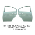 Rear doors For Hyundai Accent