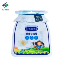 Пакет гибкой формы упаковки для упаковки таблеток молока