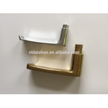 Alumínio alça de porta deslizante de casa de banho e bloqueio e placas de cobertura