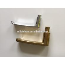 Алюминиевая рама раздвижной двери для ванной комнаты и стопорные и накладные пластины
