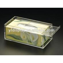 Heißer Verkauf Klar Tissue Box aus 4mm dickem Acryl